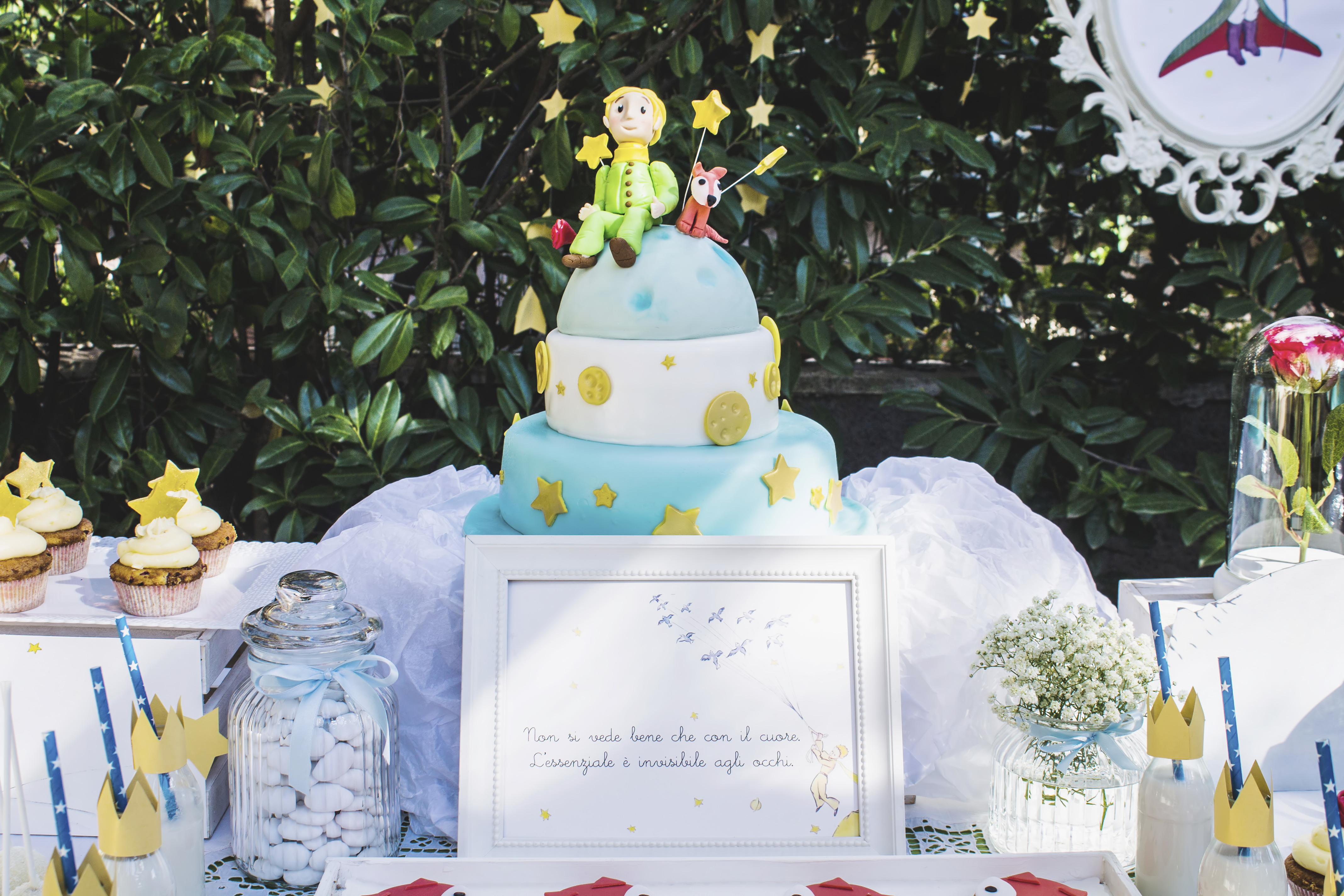 Matrimonio Tema Piccolo Principe : Battesimo piccolo principe organizzazione feste a tema