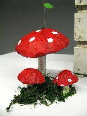 festa tema bosco incantato funghi bosco