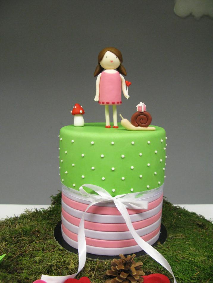 festa tema bosco incantato torta compleanno