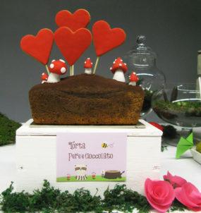 festa tema bosco incantato plumcake cioccolato