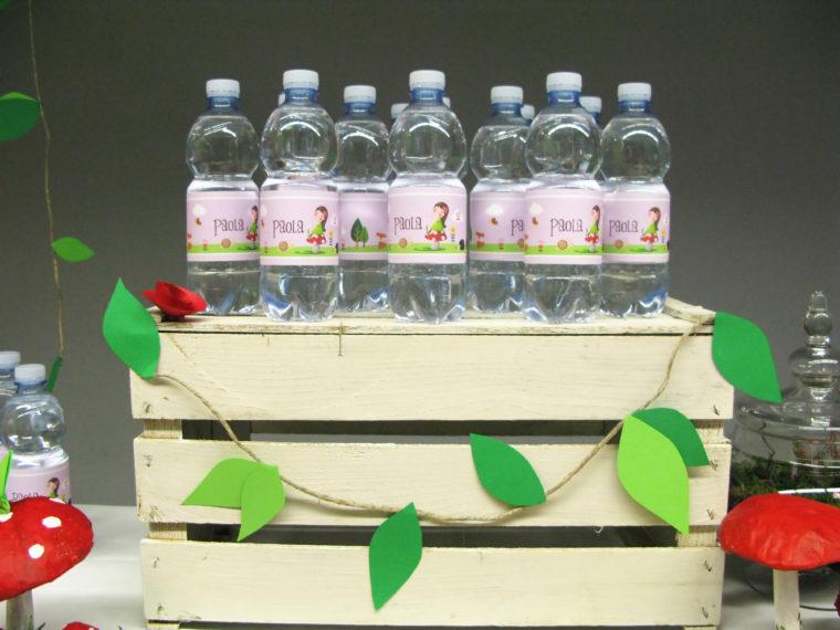 festa tema bosco incantato acqua personalizzata