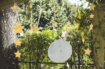 battesimo piccolo principe stelle pendenti pianeta