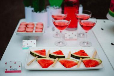watermelon party festa tema angurie su stecco