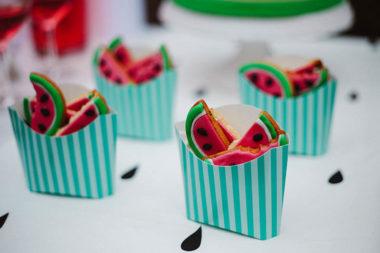 watermelon party festa tema angurie biscotti