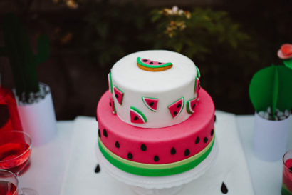 watermelon party festa tema angurie torta
