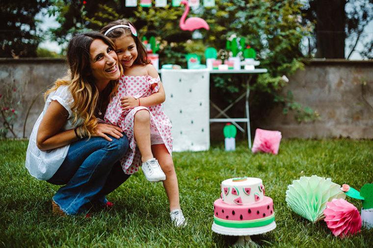 watermelon party festa tema angurie mamma figlia
