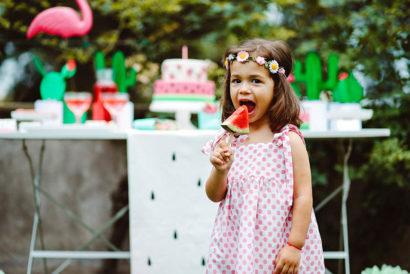 watermelon party festa tema angurie bambina festa