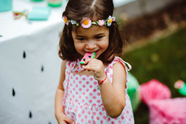 watermelon party festa tema angurie bambina biscotto