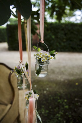 rustic chic vasetti pendenti fiori