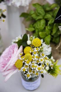 rustic chic fiori campestri