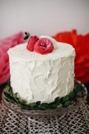 Dessert table ciliegie particolare torta