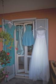 matrimonio romantico in umbria abiti sposa damigelle