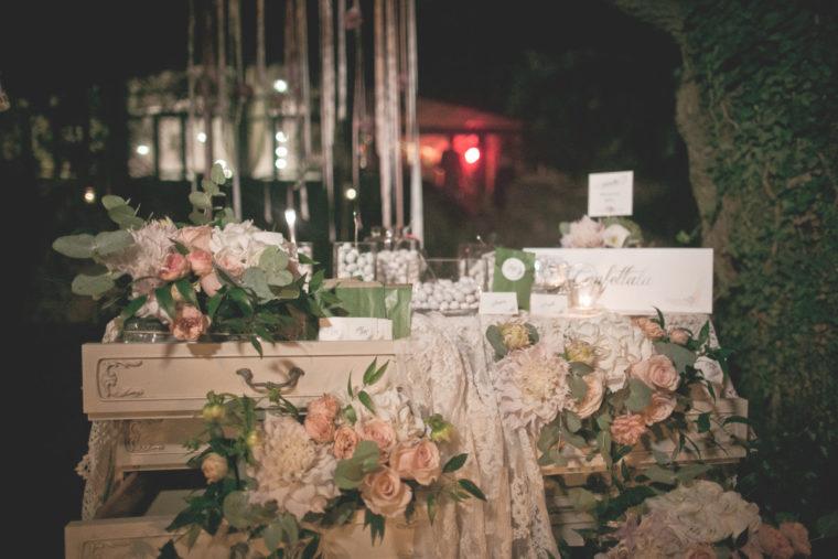 matrimonio romantico in umbria confettata