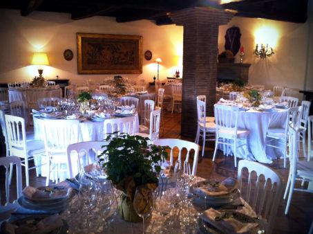 matrimonio vintage sala interna