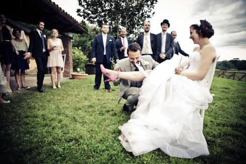 matrimonio vintage giarrettiera