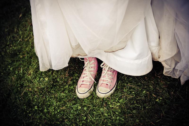matrimonio vintage scarpe sposa converse