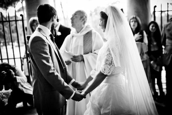 matrimonio vintage promesse sposi