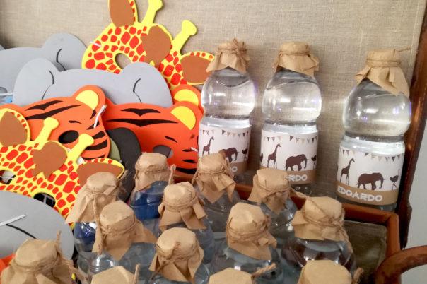 safari party bottiglie e maschere 2