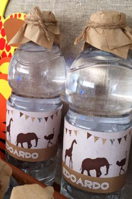 safari party bottiglie macro