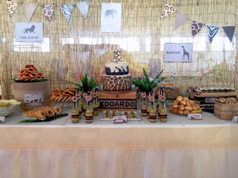 safari party tavolo