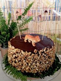 safari party torta leone