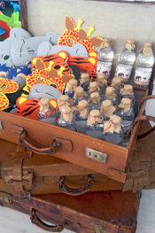 safari party valigie