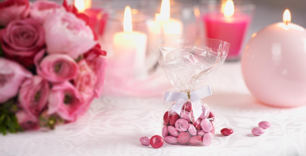 MyMMS sacchetti di cioccolatini personalizzati per feste compleanni e matrimoni