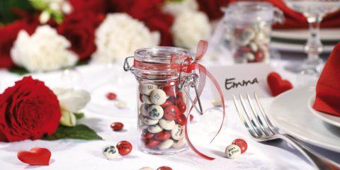 My M&M's bomboniera di matrimonio con cioccolatini personalizzati