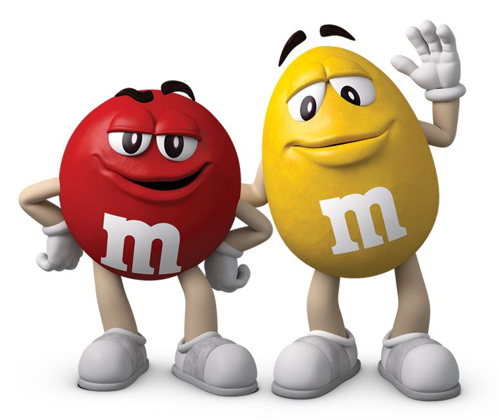 My M&M's cioccolatini Red & Yellow