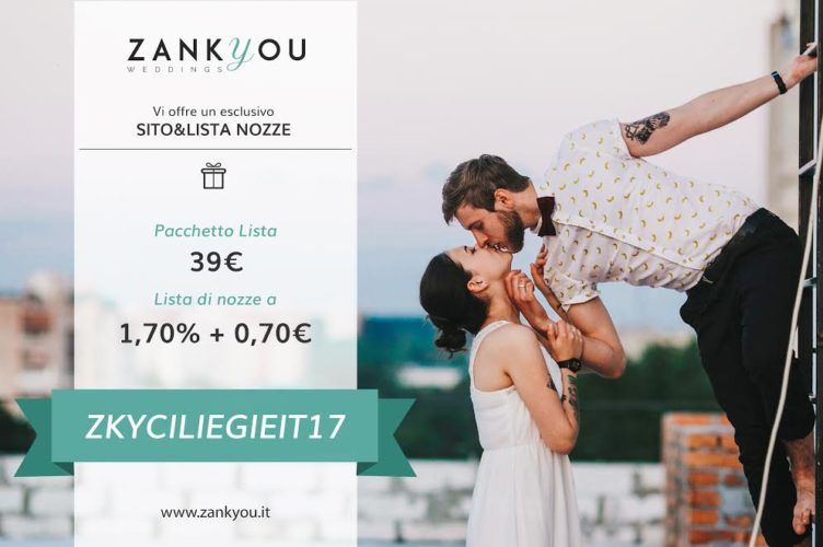 promocode zankyou regalo per le nostre coppie