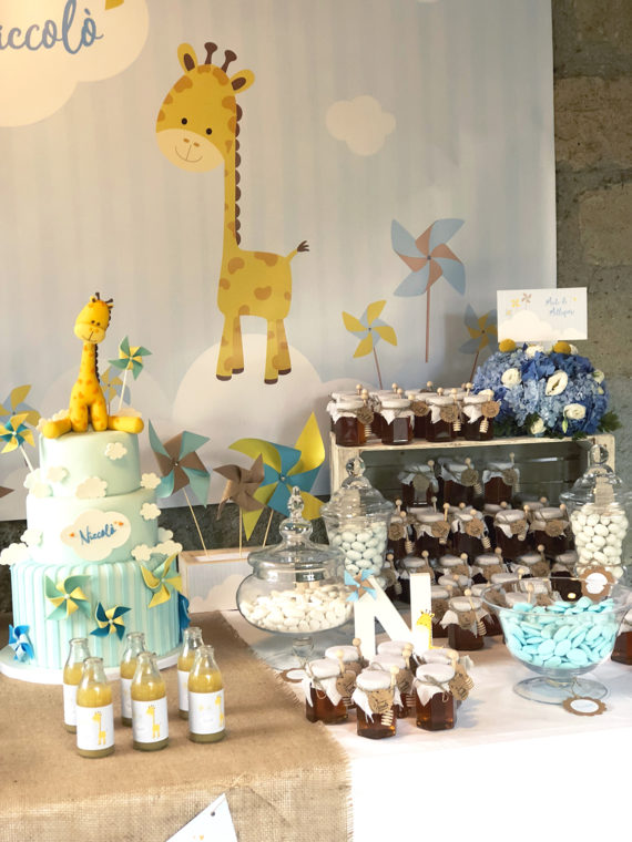 battesimo-a-tema-giraffa-torta-bomboniere