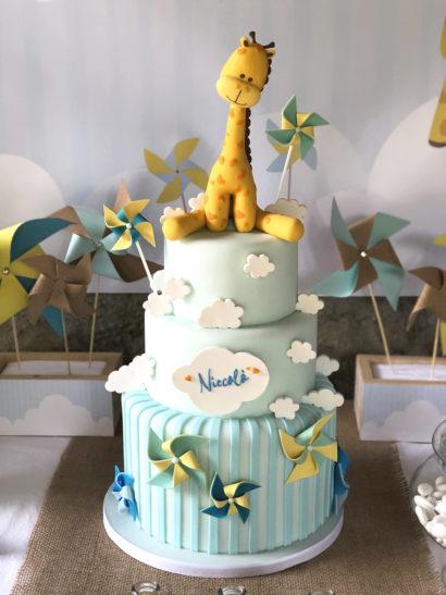 battesimo-a-tema-giraffa-torta