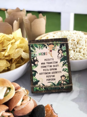 tarzan-party-menu