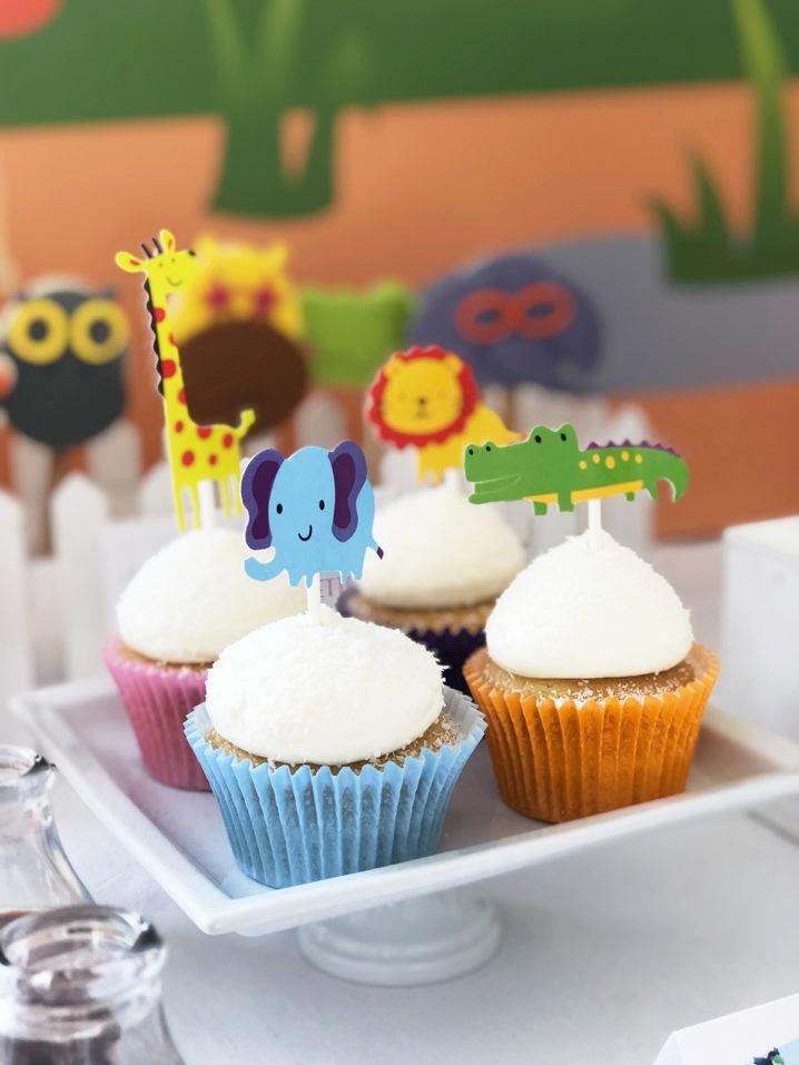 zoo-party-cupcake-animali