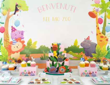 zoo-party-dessert-table