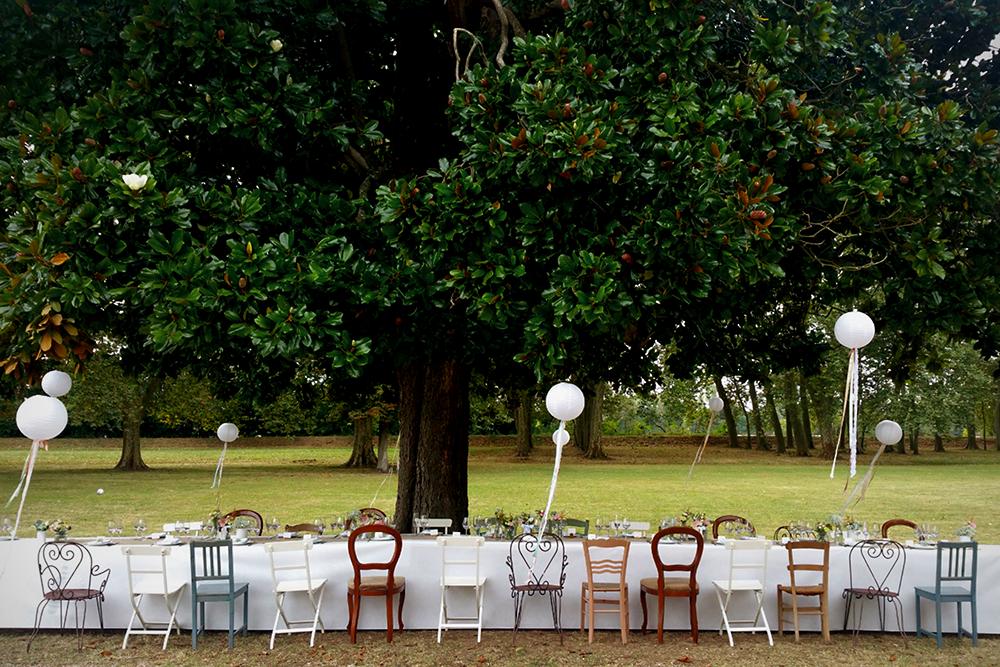 tavolo imperiale matrimonio intimo