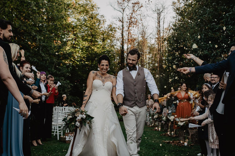 iter burocratico matrimonio civile uscita sposi